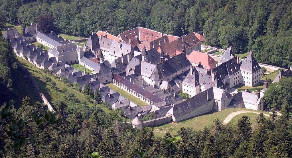 Панорама  монастыря Гранд- Шартрез