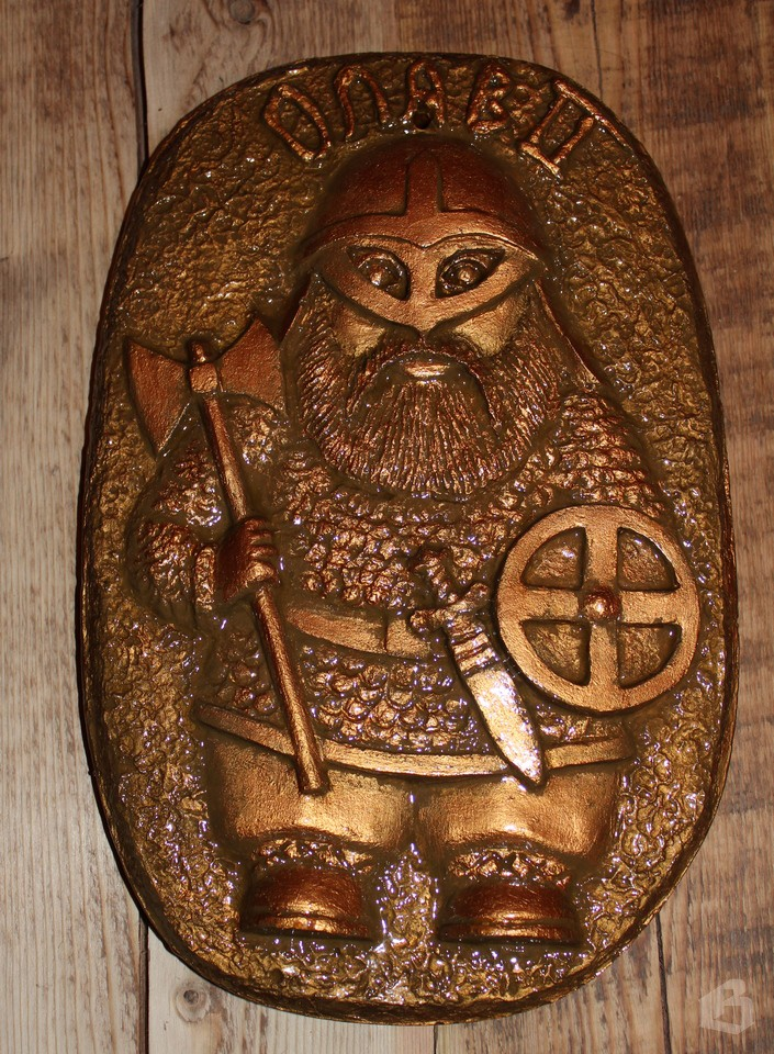 Барельеф святого Олафа