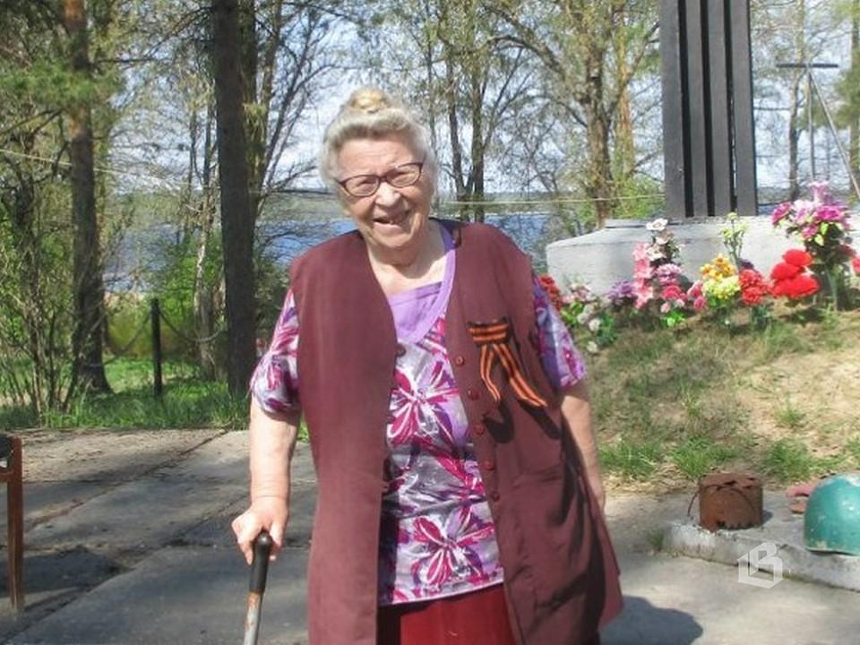 Людмила Кокина живет  в поселке с 1957 года